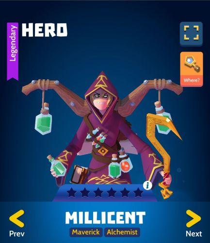 Knighthood Millicent