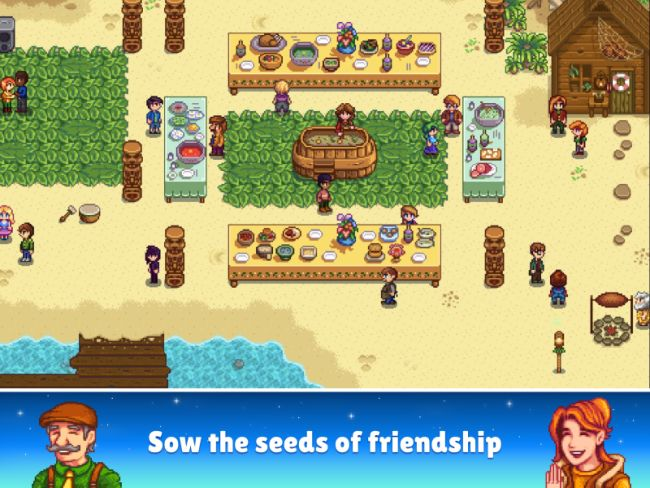 Stardew Valley offline iPhone Game
