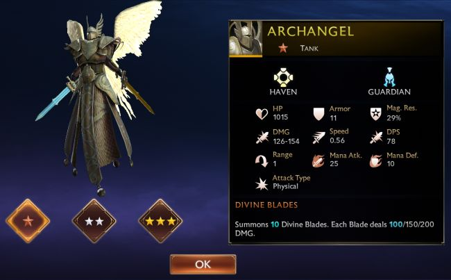 Might & Magic Chess Royale Tier List - Archangel