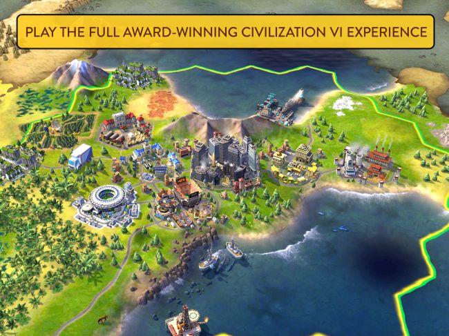 Civ 6 offline iOS game