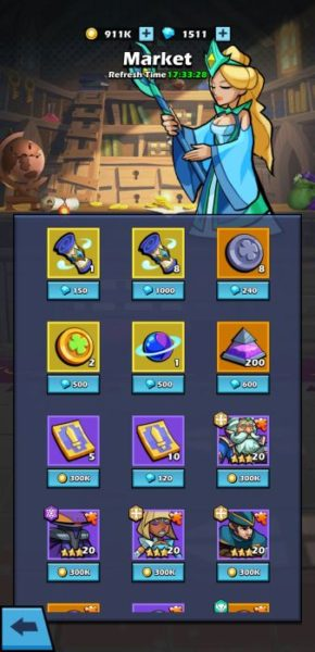 Idle Agents Scrolls in the market