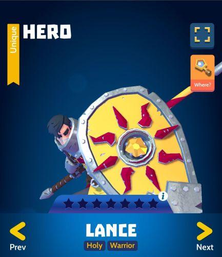 Knighthood PvP Lance