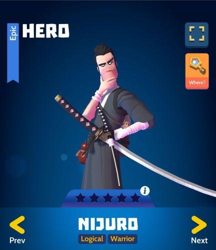 Knighthood PvP Nijuro