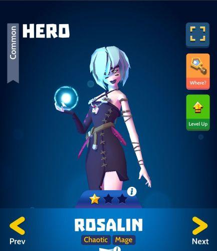 Knighthood PvP Rosalin