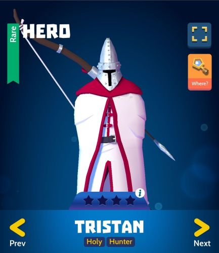 Knighthood PvP Tristan