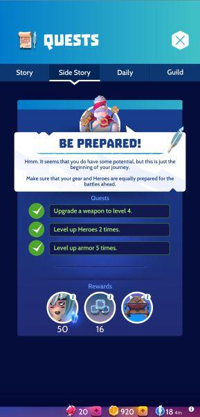 Knighthood Tips 1