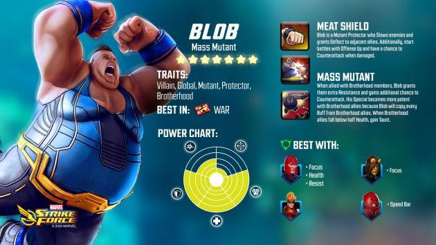 Blob Marvel Strike Force
