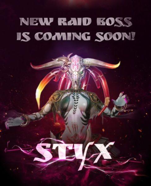 Overhit Styx Raid Boss