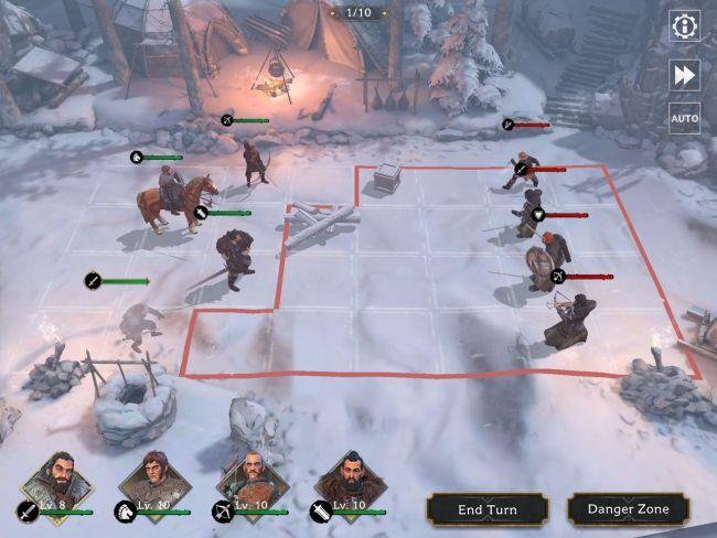 Got Beyond the Wall Tips: combat
