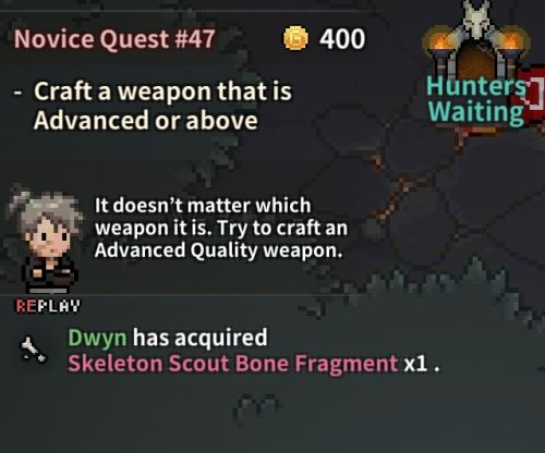Evil Hunter Tycoon Advanced Weapon Quest