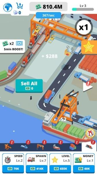 idle port tycoon 2