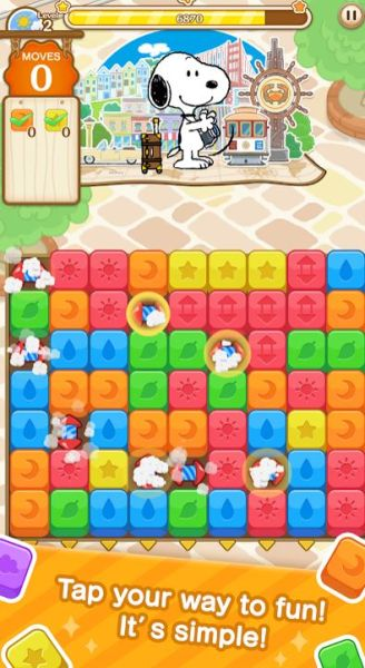 snoopy puzzle journey 4