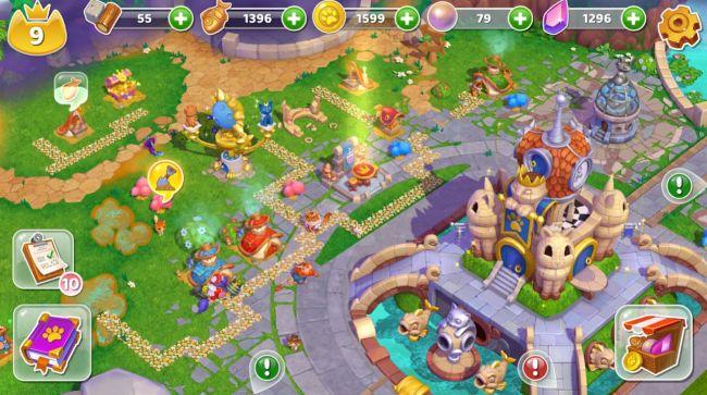 cats and magic dream kingdom 3