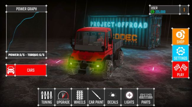 project offroad 20 5