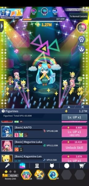 Hatsune Miku: Tap Wonder Figurines
