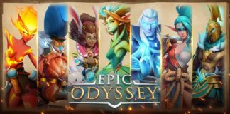 Epic Odyssey Mobile game