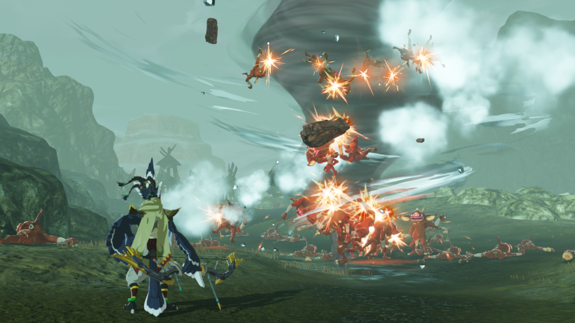 Hyrule Warriors Age Of Calamity New Video Reveals Demo Framerate Resolution Touch Tap Play