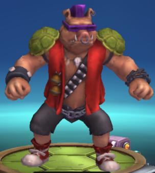 giant mutant pig