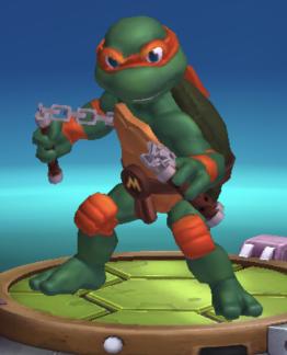 Teenage mutant ninja turtle Michelangelo