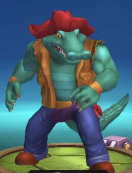 mutant crocodile leatherhead