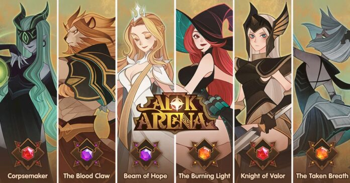 Code Afk arena