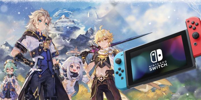 Genshin Impact Nintendo Switch Official Release Date