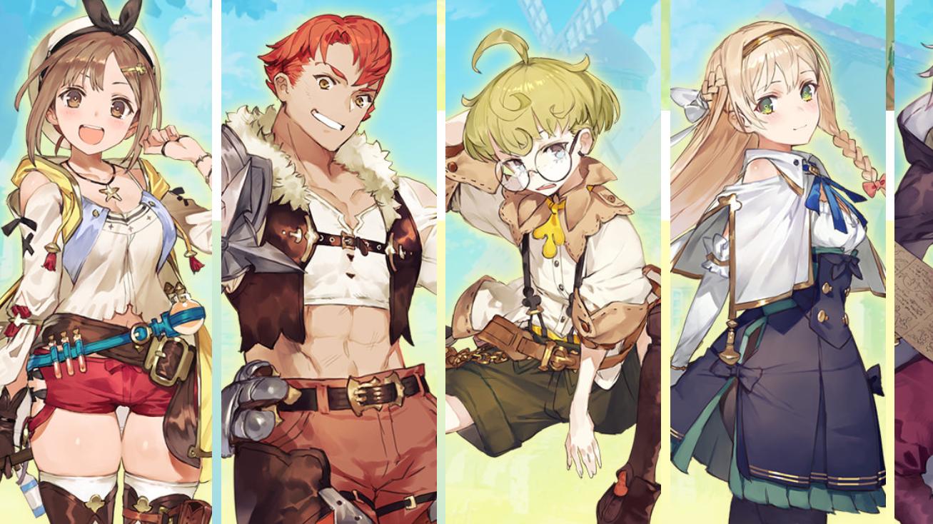 Atelier Ryza 2 Playable Characters