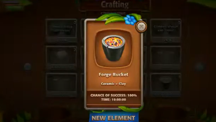 Forge Bucket Virtual Villagers Origins 2