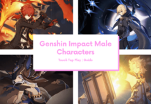 Genshin Impact Male Characters