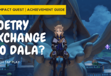 Genshin Impact Poetry Exchange Quest and Yo Dala Achievement (1)