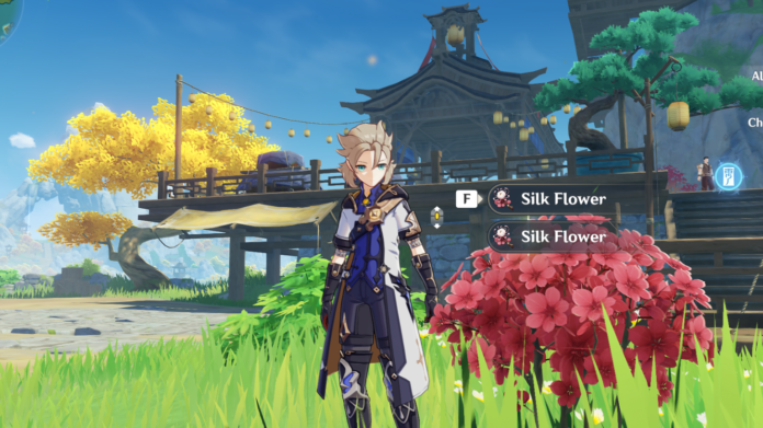 Genshin Impact Silk Flower Location Guide