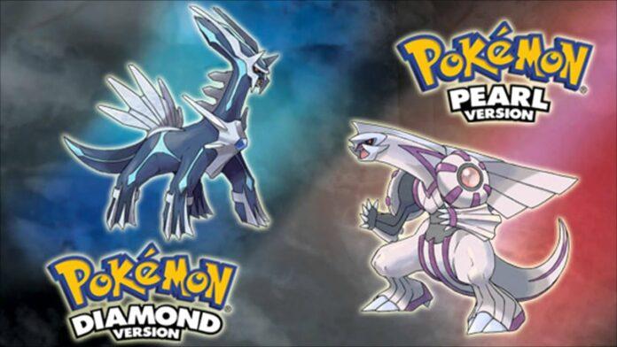 Pokémon Diamond and Pokémon Pearl