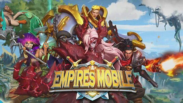 Empires Mobile Codes