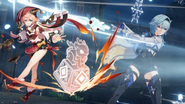 Genshin Impact Eula and Yan Fei