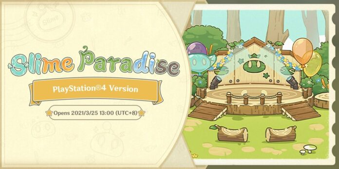 Genshin Impact Slime Paradise Event PlayStation 4