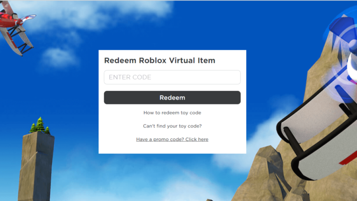 Roblox Toy Codes Redeem