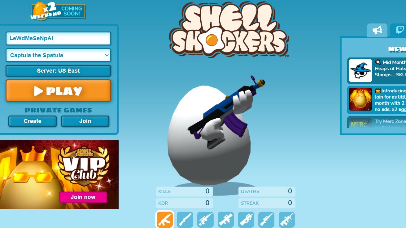 Shell Shockers.IO