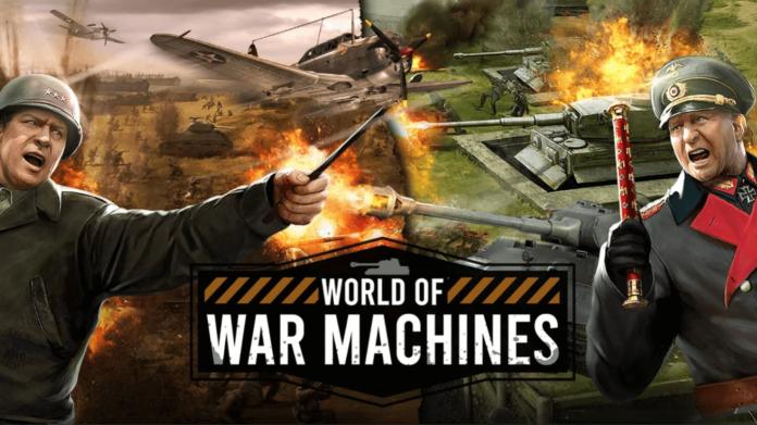 World of War Machines Cheat Codes