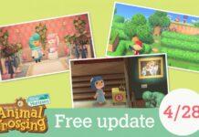 Animal Crossing: New Horizons Update 1.10.0