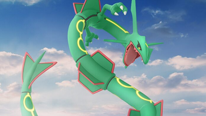 Best moveset for Rayquaza in Pokémon Go