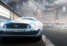 Rocket League Mustang