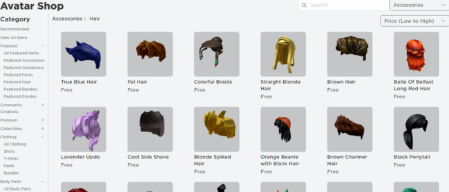 Roblox Hair ID Codes Touch Tap Play