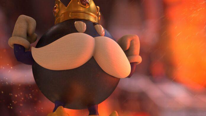 King Bob-omb Mario Kart Tour