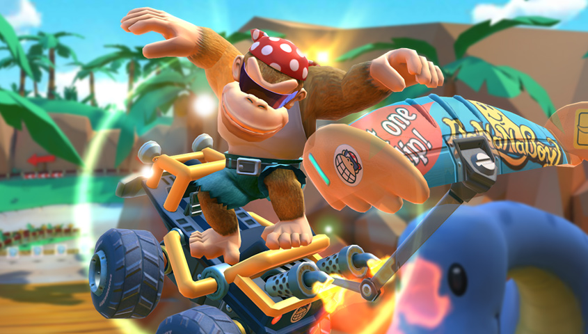 Mario Kart Tour All Banana Barrel Drivers