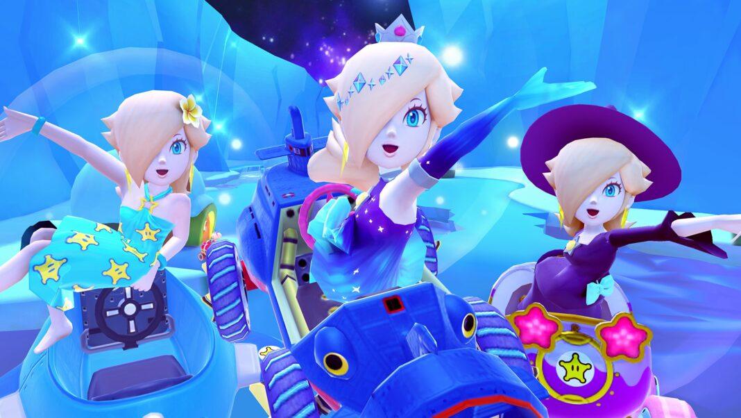 Mario Kart Tour Drivers Wearing Earings