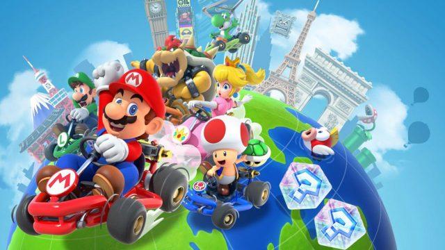 Mario Kart Tour Drivers Wearing Gloves