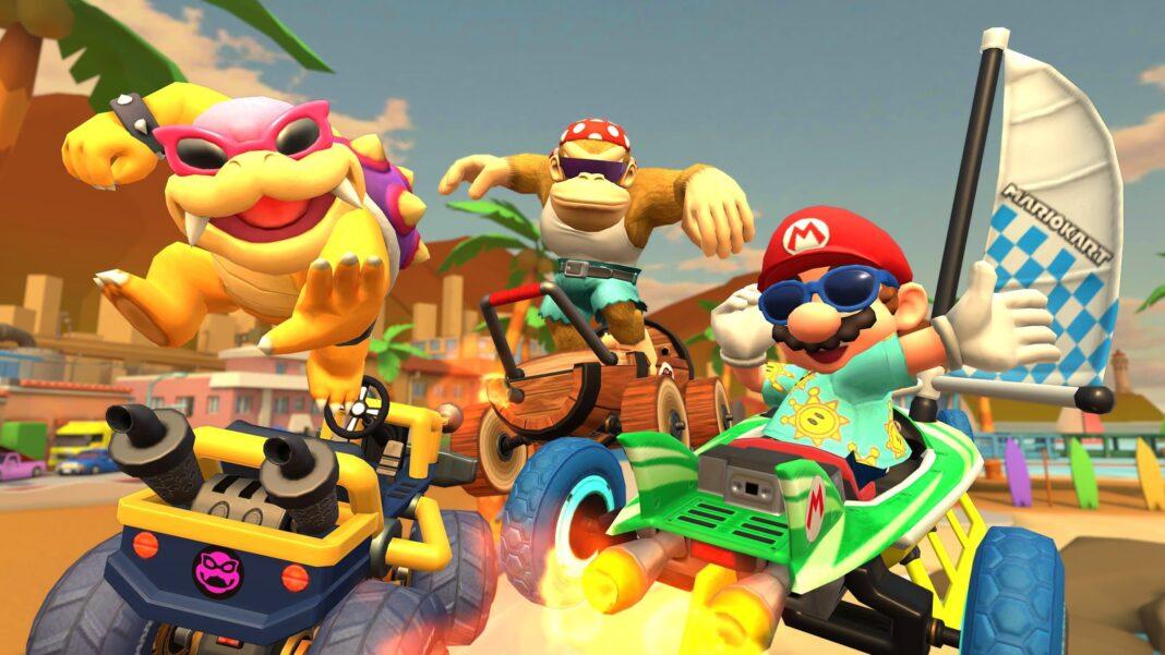 Mario Kart Tour Giant Banana Drivers