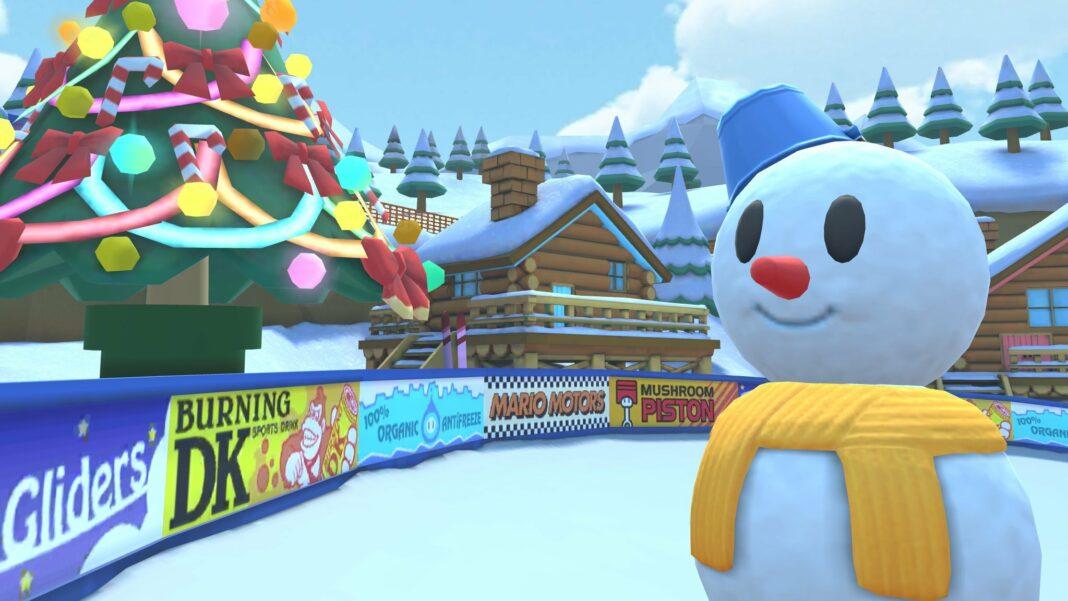 Mario Kart Tour Snowpeople