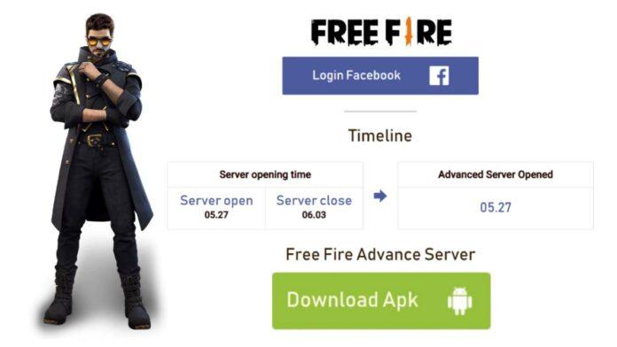 Free Fire OB30 Advance Server APK
