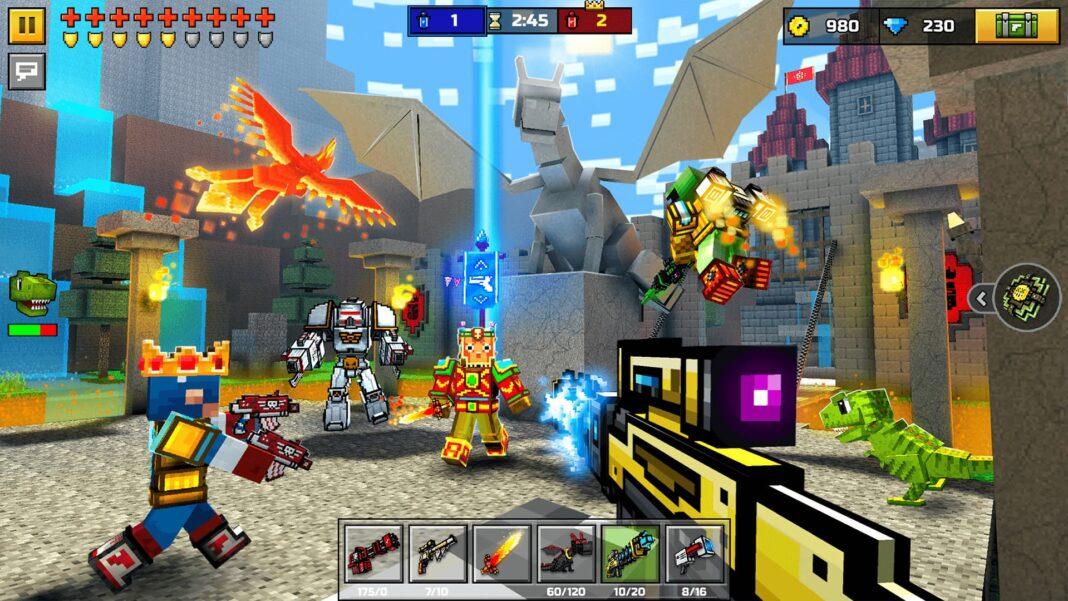 Best Guns in Pixel Gun 3D